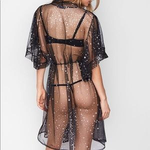 Victoria s Secret Intimates   Sleepwear - Victoria s Secret Dream Angels  Glitter Star Kimono 20eaa4924cd